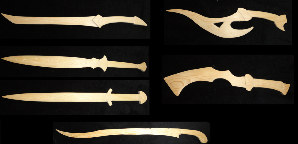 Wooden Swords by Scatha-the-Worm on DeviantArt