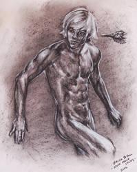 Male Study by HisHalfElf
