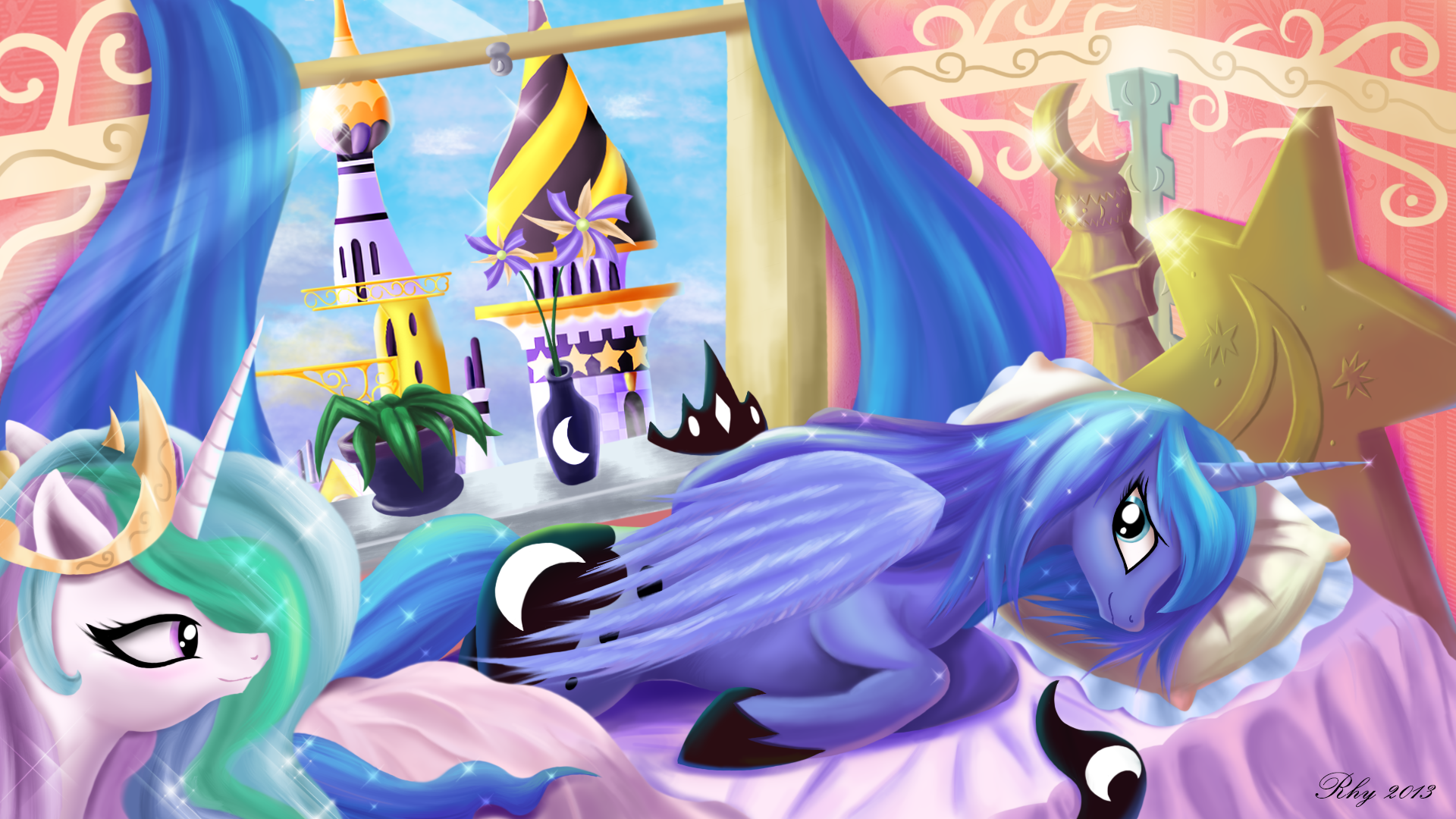Princess Luna By Rhythmpopfox On Deviantart
