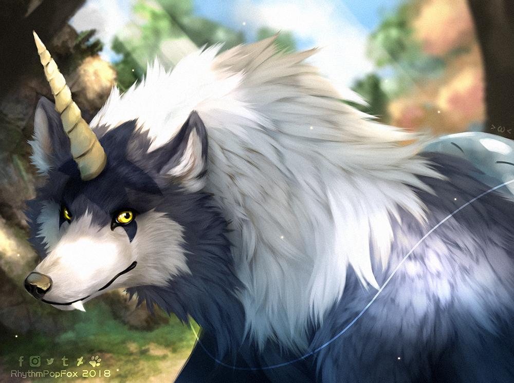 Tempest Wolf by RhythmPopFox