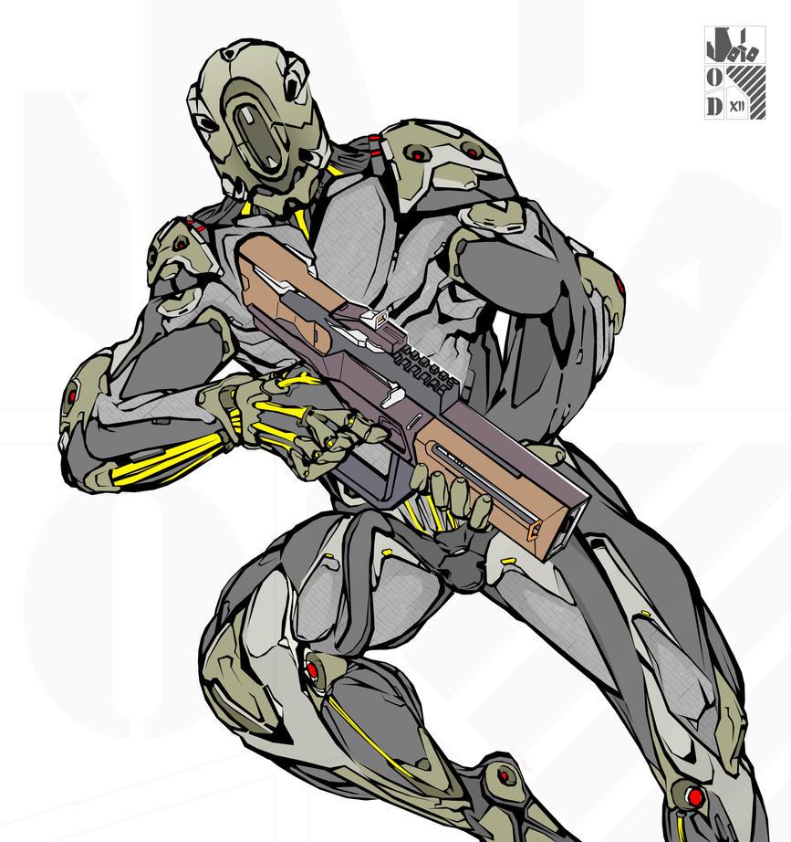 Infantry- hunter. by OasisD12