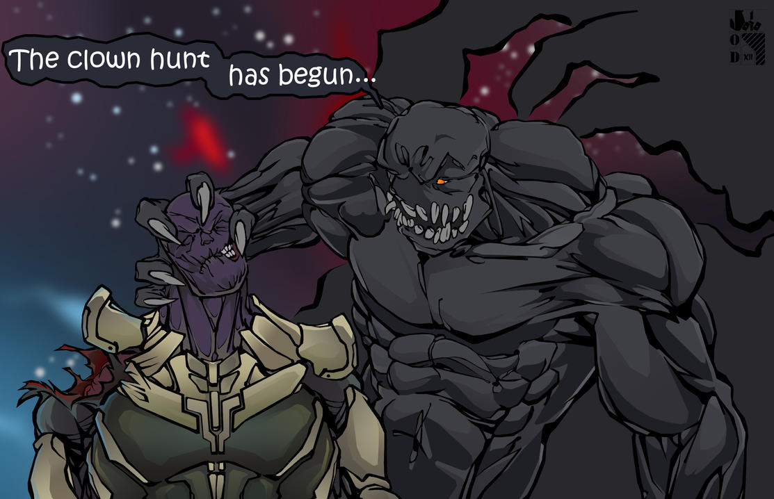 Dead Thanos. by OasisD12