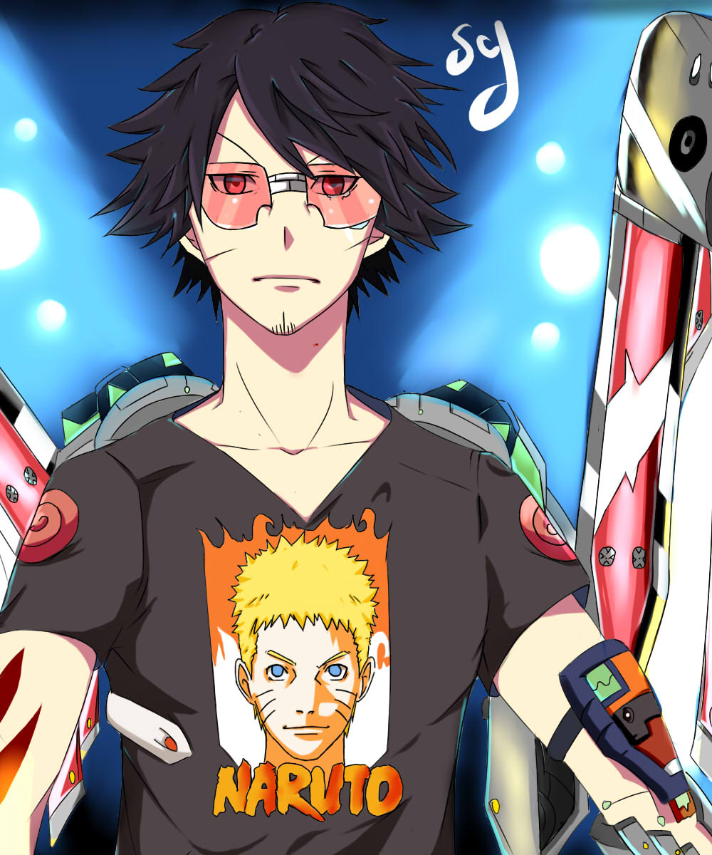 The ultimate cyborg ( Naruto fan ) by OussamaluffyX on