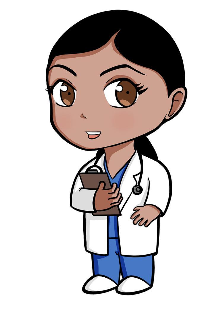 chibi doctor by rowangovender on deviantart eye doctor clipart images Eye Doctor Cartoons