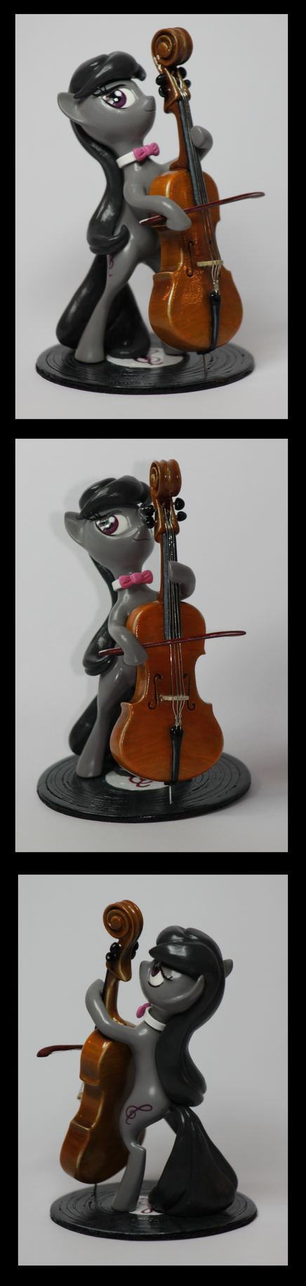 MLP:FIM Octavia miniature by CaptainWilder