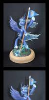 MLP:FIM Luna miniature by CaptainWilder