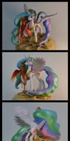 MLP:FIM Celestia sculpture