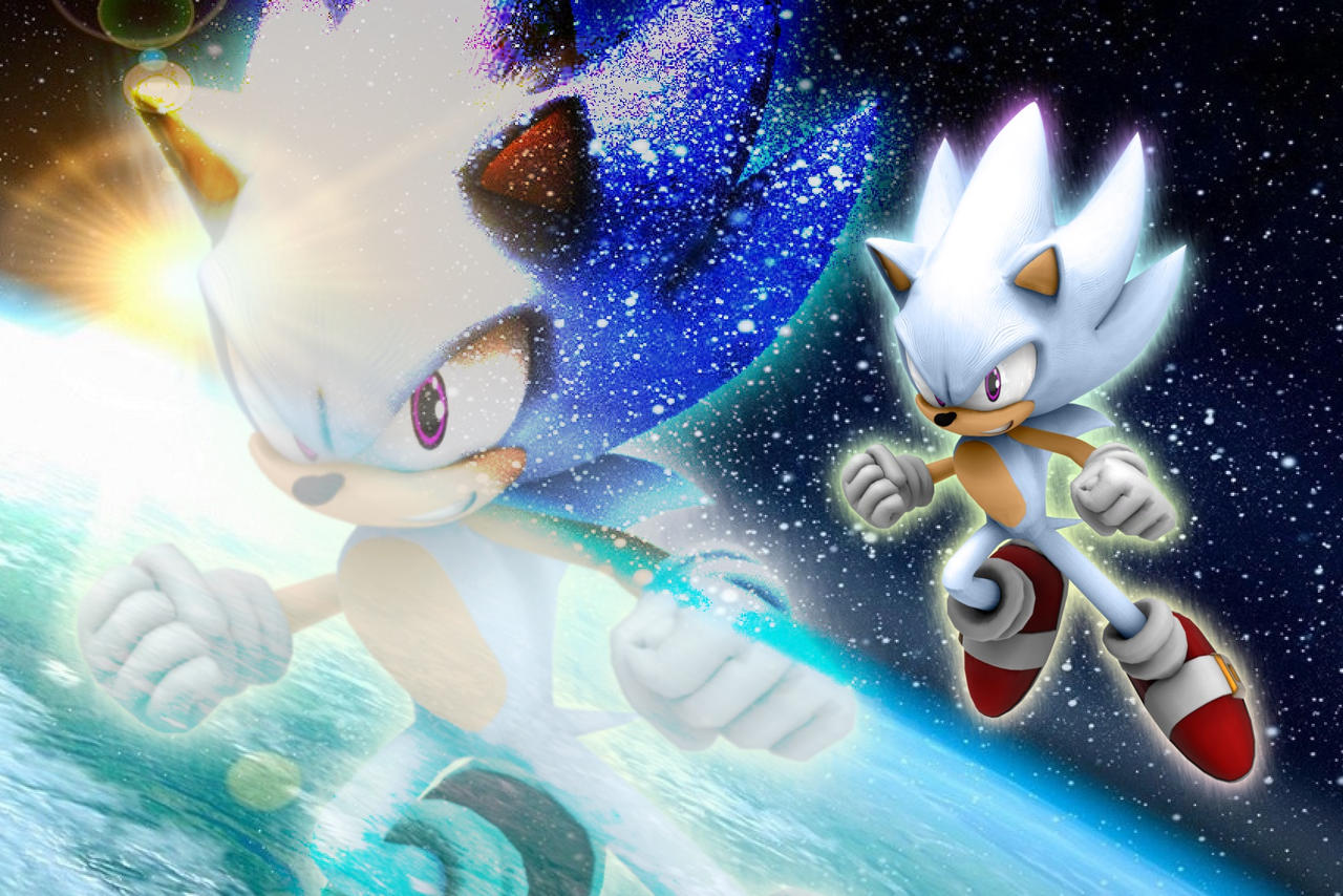 Hyper Sonic Wallpaper By Supervicenic On Deviantart