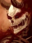 Evil skeleton dude