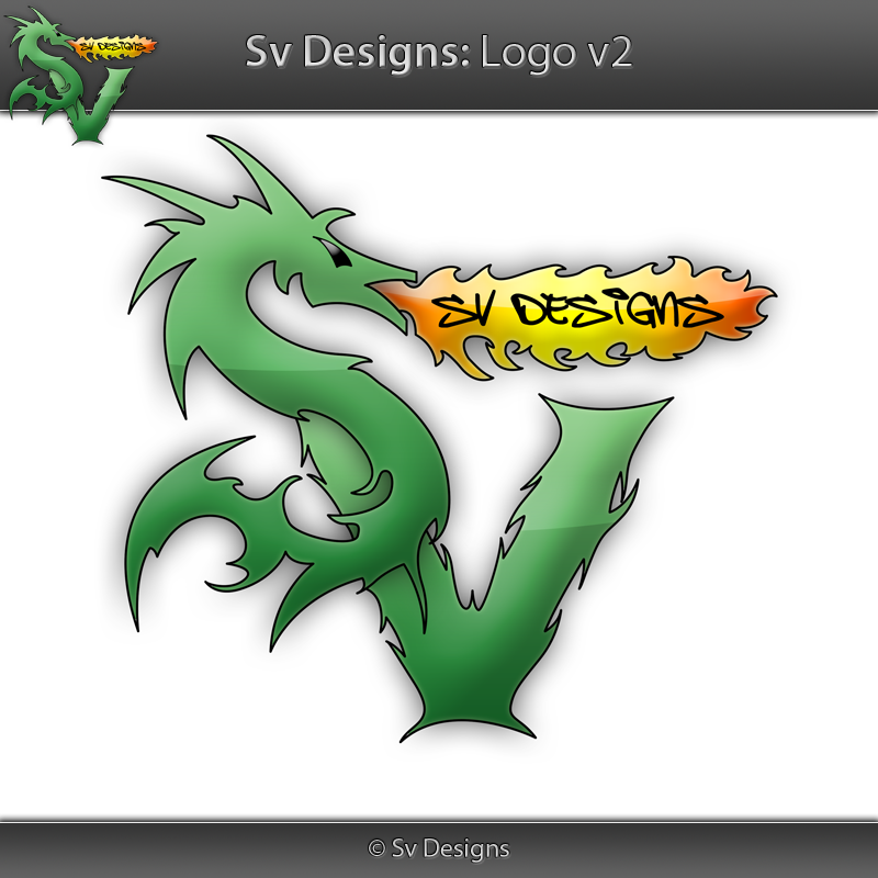 Logo - Sv Designs v2 by shilpinator