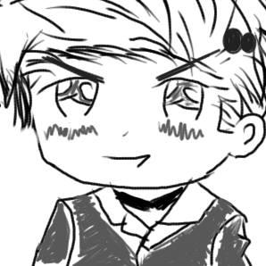 I tried to draw APH Denmark XD by Chrismae100