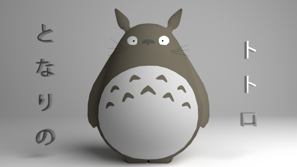 Totoro by HizkiFW