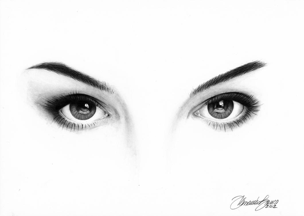 Natalie Portman eyes by alessandrobianco