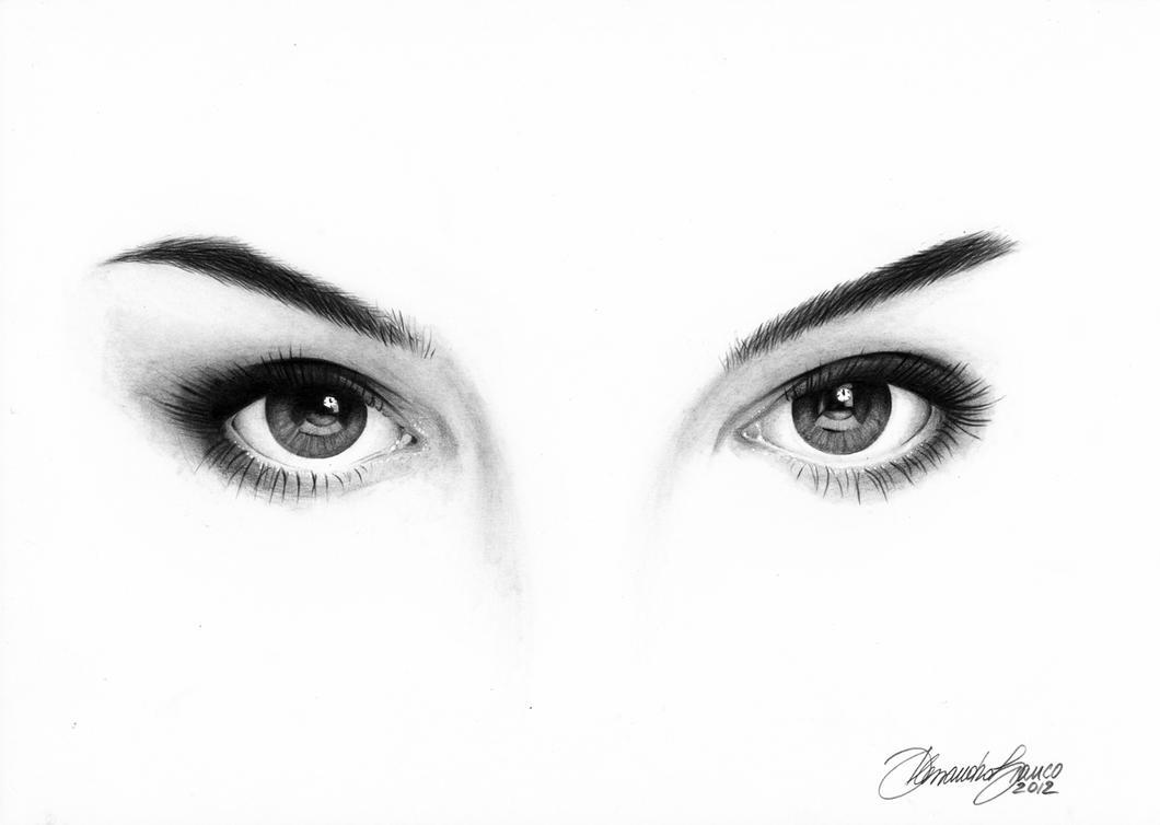 Natalie Portman eyes by alessandrobianco