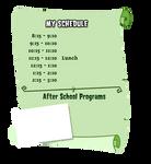 Monster High Schedule Base