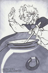 Cauldron by rajamitsu