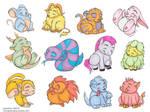 Chinese Zodiac Critters