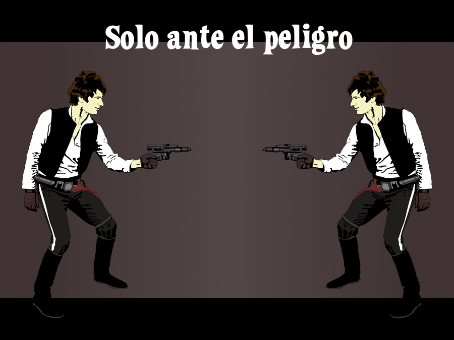Han Solo wallpaper 1024x768 by Pasteljam