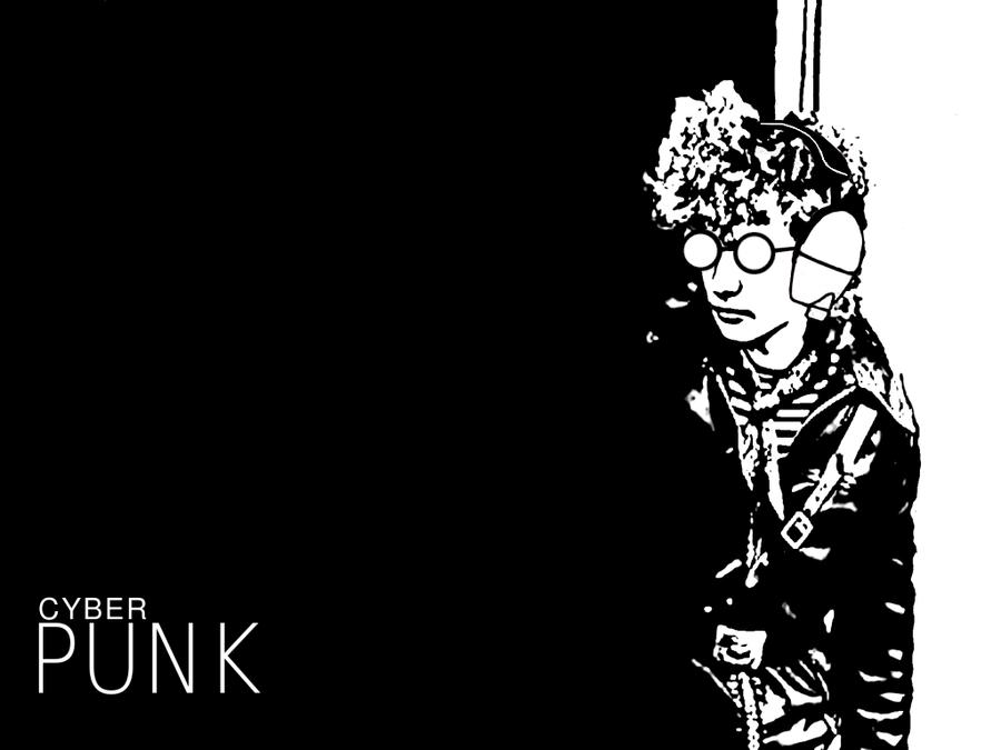 CyberPunk Wallpaper 1024x768 by Pasteljam