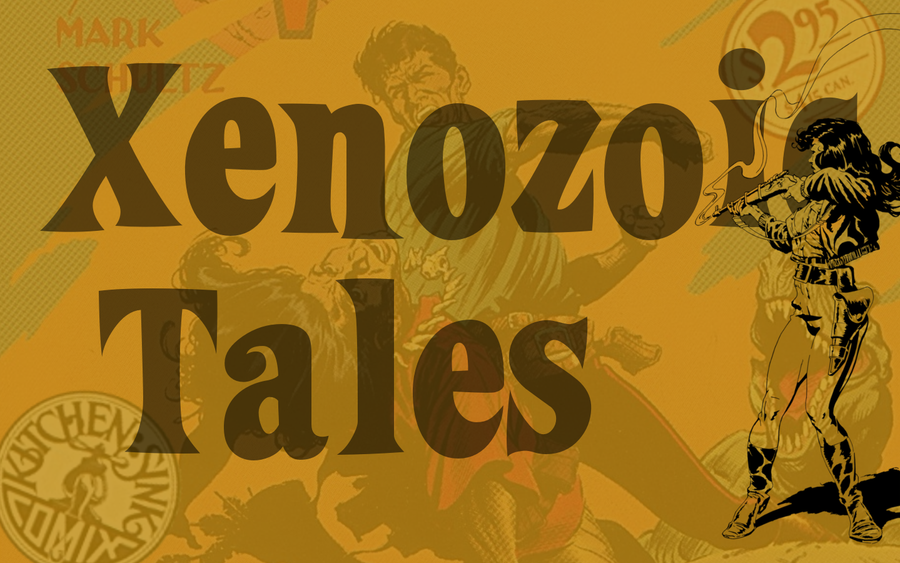 Xenozoic Tales wallpaper Hanna -2- 1440x900 by Pasteljam
