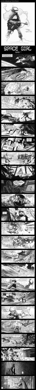 SpaceGirl 1 (1/2) by Travis Charest