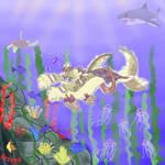 Underwater Seafoam boiiii