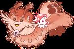 Teddy and Squib by MintyMilja