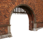 Fortress gates PNG 02
