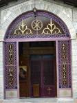 greek ortodox church door