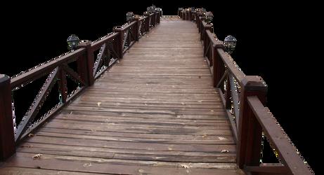 wood bridge PNG 2