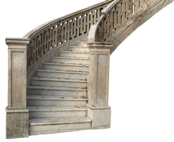 marble stairs PNG