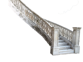 marble stairs 2 PNG by dreamlikestock