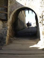 medieval entrance by dreamlikestock