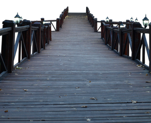 yet another wooden bridge PNG