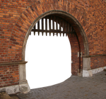 Fortress gate PNG (with pavement) by dreamlikestock