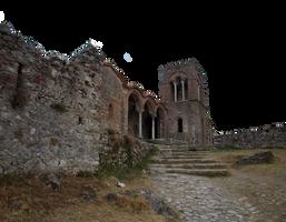 Greek byzntine temple PNG