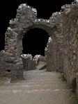 Byzantine ruins PNG by dreamlikestock