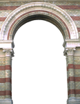 Arch entrance PNG by dreamlikestock