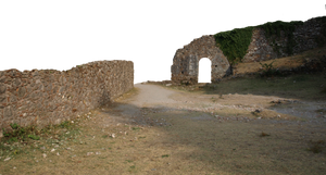 backgrond wall and ruin PNG