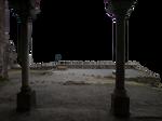 Ruins and pillars PNG by dreamlikestock