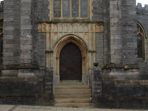 Architecture stock beautiful gothic church door 2
