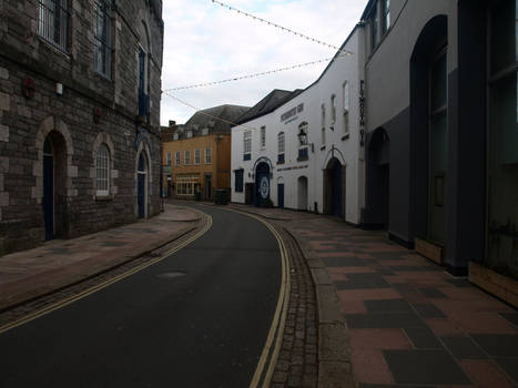 Beautiful street - architecture stock 2