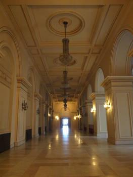 interior hallway stock