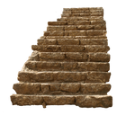 ancient stairs png stock