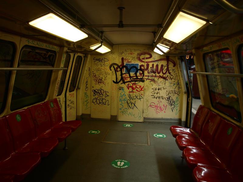 Old subway stock 3