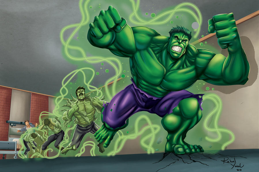 Hulk Transform by rohvel on DeviantArt