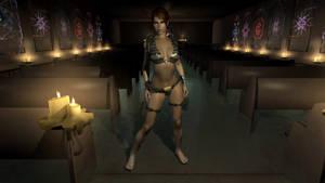 Lara Croft in Skyrim (Released)