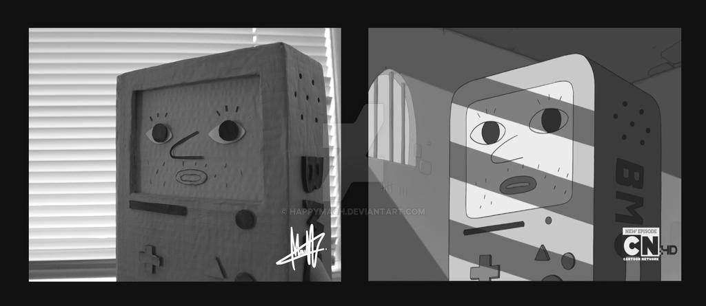 Creepy BMO by MaCherz