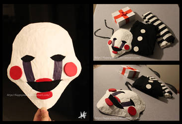 Marionette Mask - Five Nights At Freddy's 2 by HappyMach
