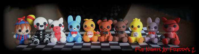 Five Nights At Freddy's 1 and 2 by HappyMach